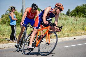 Grgorinić i Elezović na biciklu