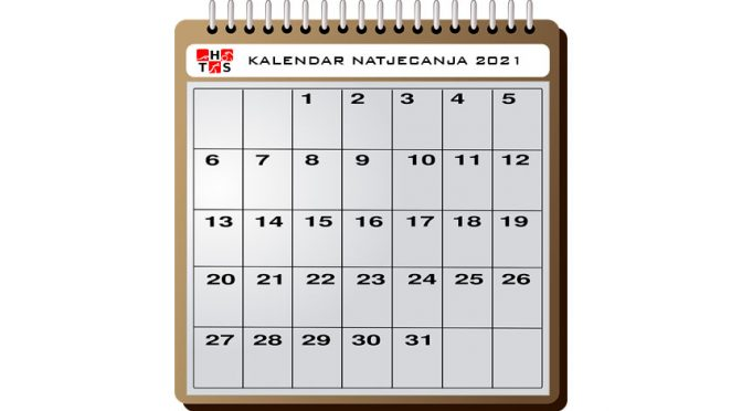 PRODULJEN ROK ZA prijavu kalendara natjecanja